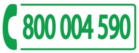 numero verde 800 004 590
