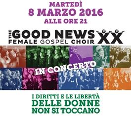 Puoi ingrandire l'immagine della locandina del concerto Female Gospel Choir (.pdf - 939 KB)