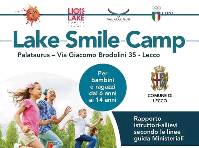 Lake Smile Camp - Lecco - 2020